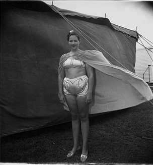Diane Arbus, 'Girl in Her Circus Costume, Md.'
