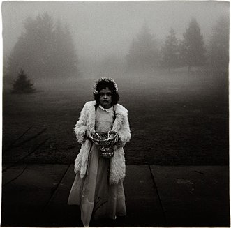 Diane Arbus, 'A Flower Girl at a Wedding, Conn.'