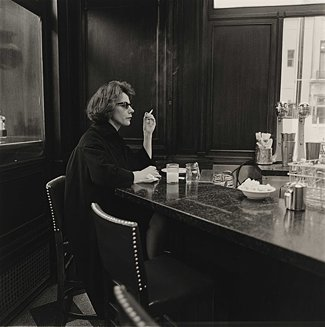Diane Arbus, 'Woman at a Counter Smoking, N.Y.C.'